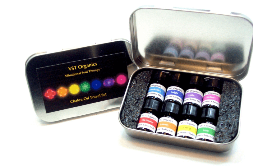 Chakra Oil Set gift for Gemini